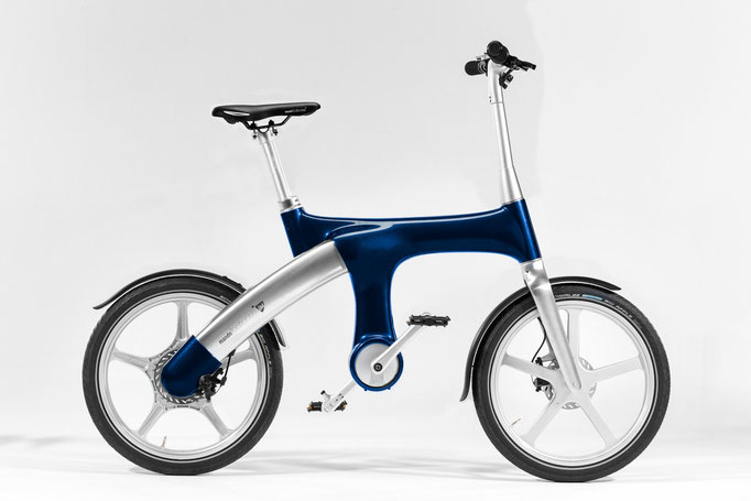 Mando Footloos IM e-Bike - blau, 2990 CHF