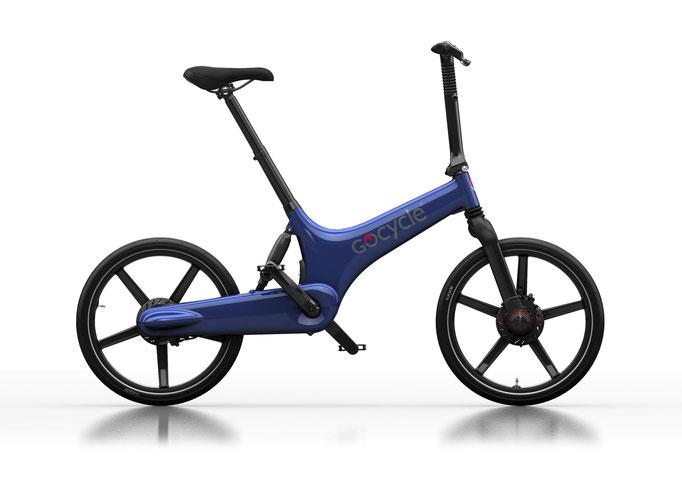 Gocycle G3 blau