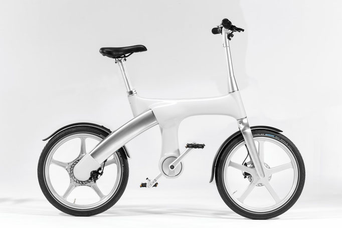 Mando Footloos IM e-Bike - weiss, 2990 CHF