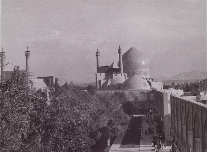 Isfahan - Der Königsplatz Naqsch-e Dschahan (Aussicht vom Palast des Alikapoun)