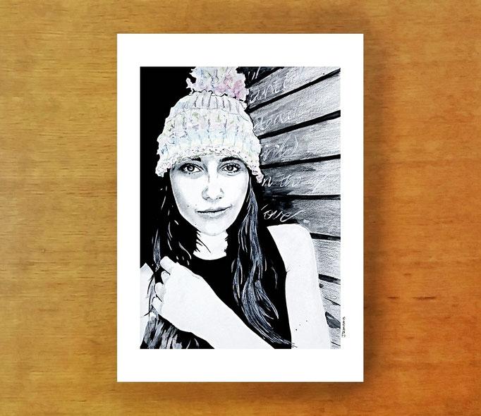 #acrylic #watercolor #mrseaves #gemmaobrien