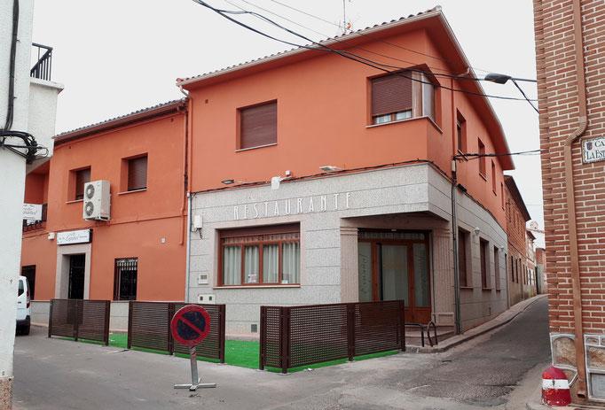 Proyecto de Hostal Español, Toledo, Rodrigo Perez Muñoz Arquitecto