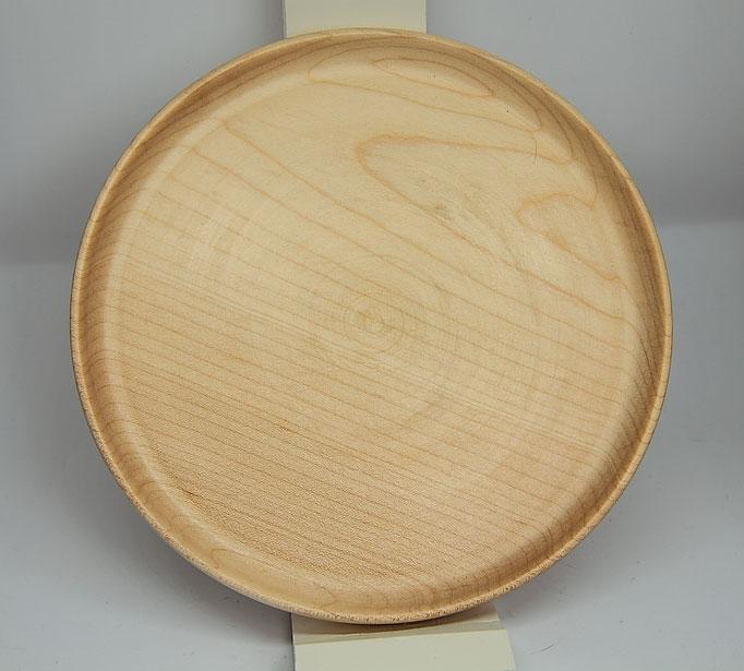 Assiette Plate en Frêne