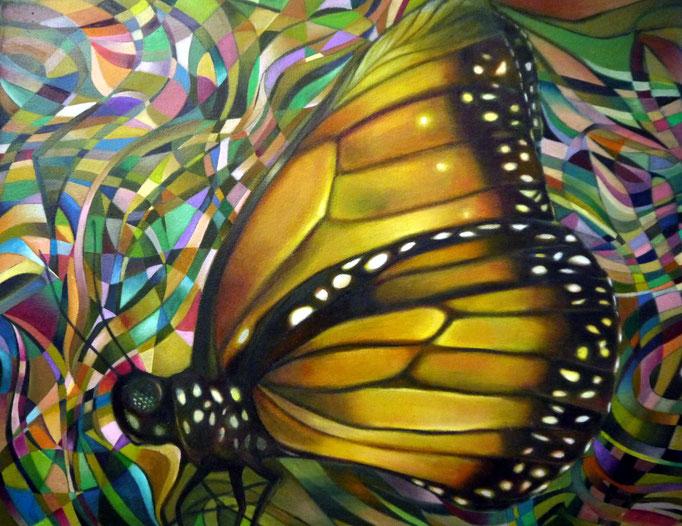 «Mariposa» óleo sobre lienzo - 40 x 50 cm - 2012