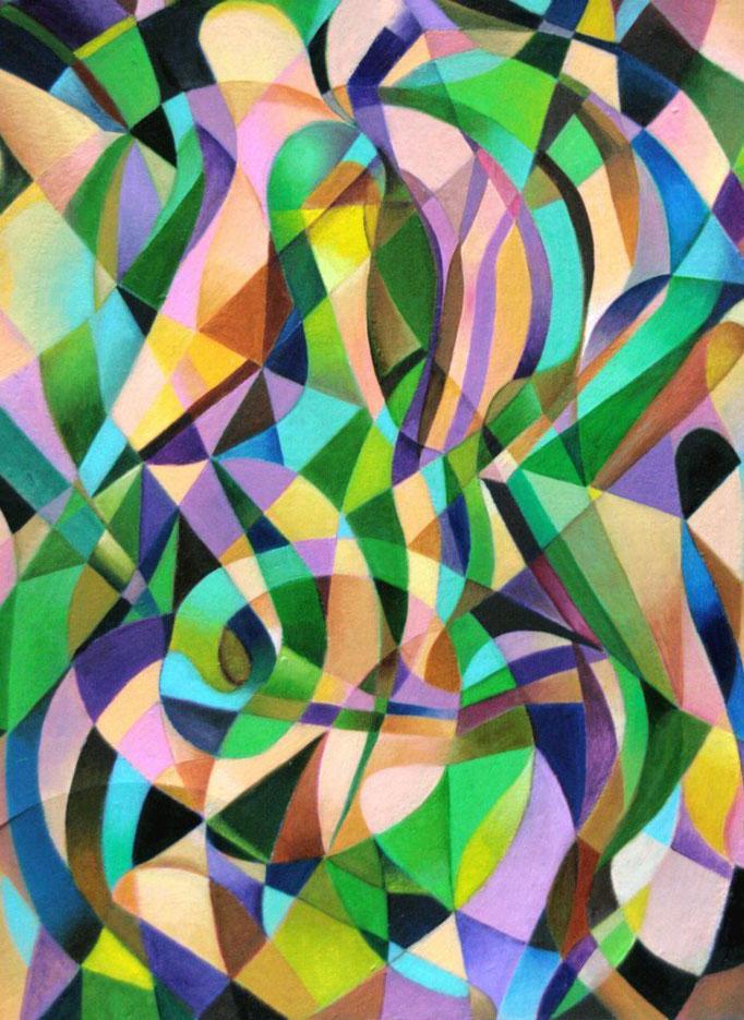 «La Hora de la Siesta» óleo sobre cartón - 50 x 40 cm - 2012