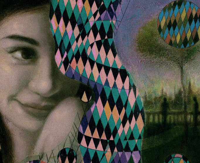 «Katharsis» óleo y técnica mixta sobre lienzo - 30 x 30 cm - 2018