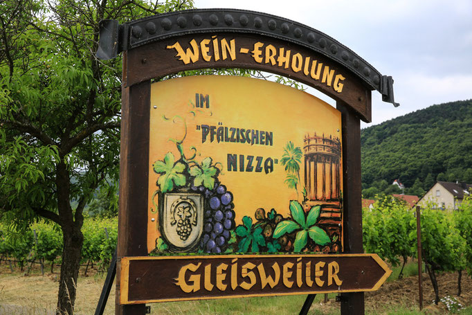 Ortseingang Gleisweiler