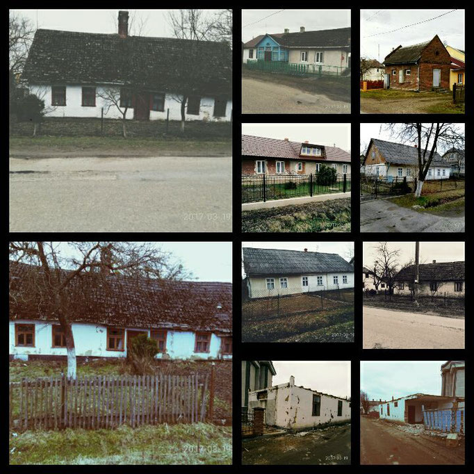 Старі німецькі будинки (Old houses in Gelsendorf).