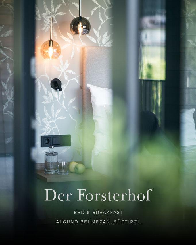 die schönsten Hotels in den Alpen: DER FORSTERHOF, Bed&Breakfast, Algund bei Meran, Südtirol/Italien