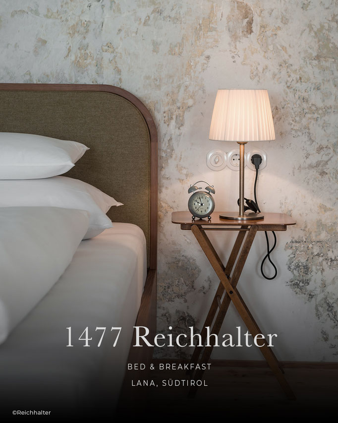 1447 Reichhalter, Boutiquehotel, Bed & Breakfast, B&B, Lana - Südtirol, Italien
