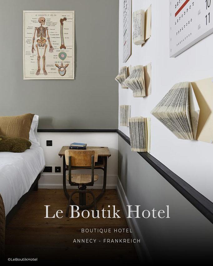 Le Boutik Hotel, Boutiquehotel, Bed & Breakfast, B&B, Annecy - Frankreich