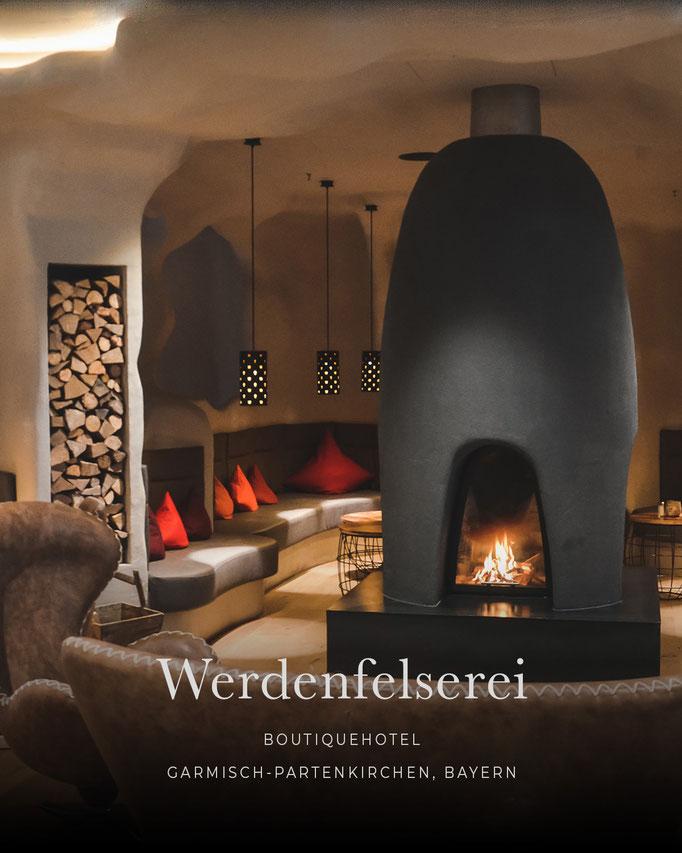 die schönsten Hotels in den Alpen: WERDENFELSEREI, Wellnesshotel & Boutique Hotel, Garmisch-Partenkirchen, Bayern/Deutschland