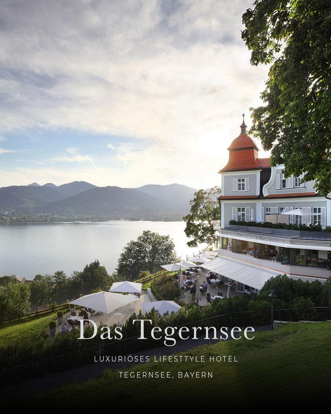 die schönsten Hotels in den Alpen: DAS TEGERNSEE, Tegernsee, Bayern/Deutschland