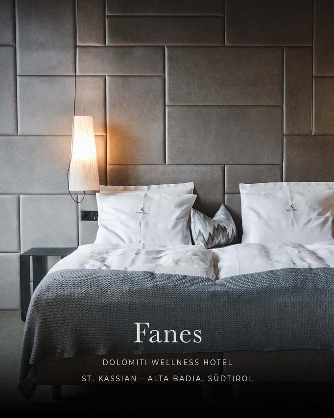 die schönsten Hotels in den Alpen: FANES, Wellnesshotel, Alta Badia - Dolomiten - Südtirol/Italien