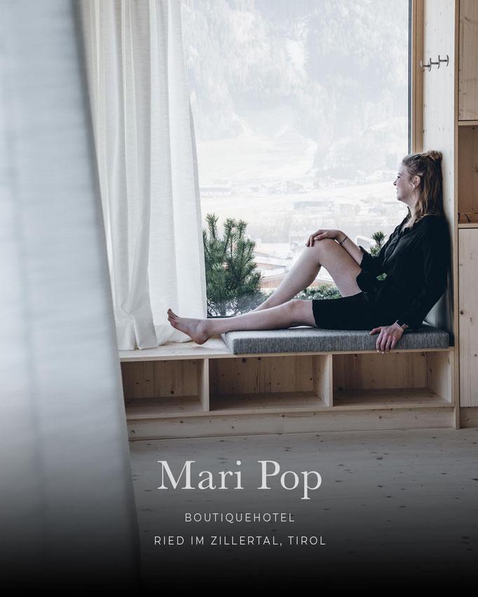 die schönsten Hotels in den Alpen: MARI POP HOTEL Boutique Hotel, Zillertal, Tirol/Österreich