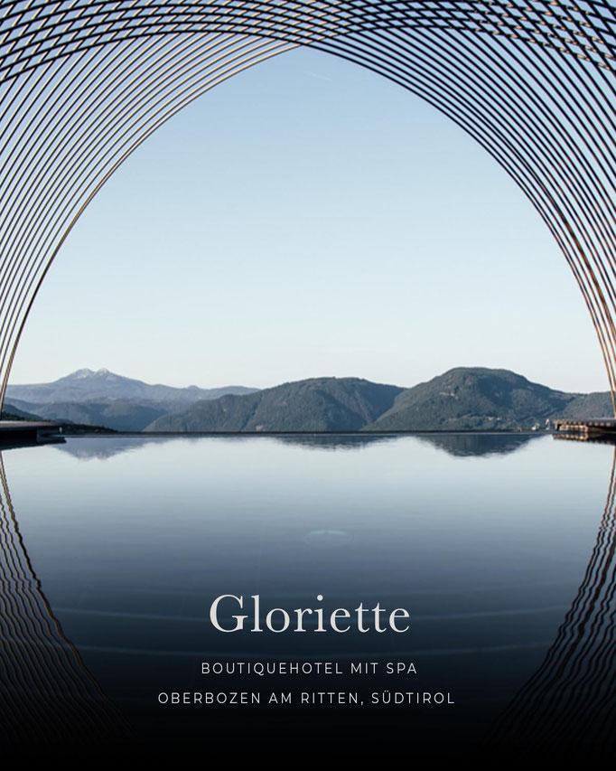 die schönsten Hotels in den Alpen: GLORIETTE Guesthouse, Boutiquehotel, Oberbozen am Ritten, Südtirol/Italien