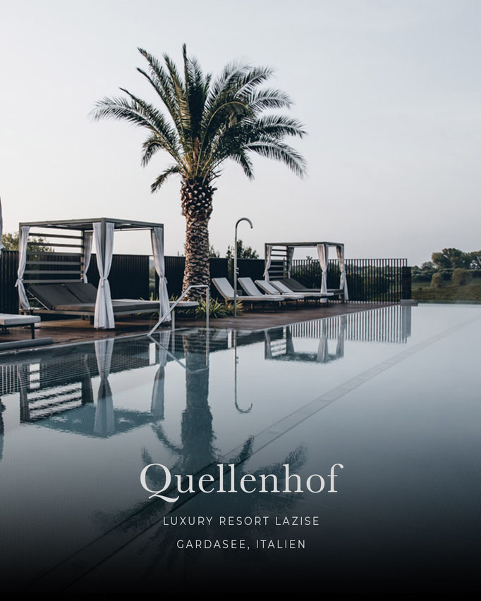 die schönsten Hotels in den Alpen: QUELLENHOF Luxury Resort Lazise, Gardasee/Italien