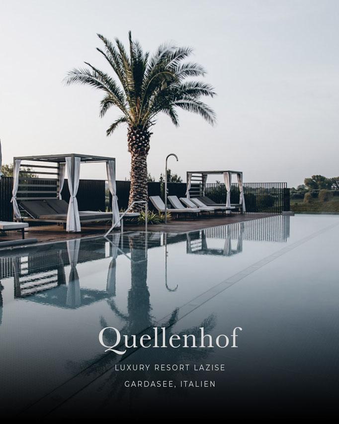 die schönsten Hotels in den Alpen: QUELLENHOF Luxury Resort Lazise, Gardasee/Italien