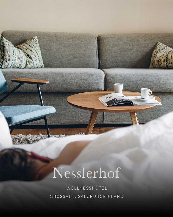 die schönsten Hotels in den Alpen: NESSLERHOF, Wellnesshotel, Großarl, Salzburgerland/Österreich
