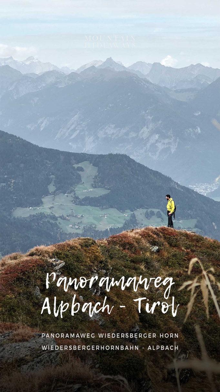 Panorama-Rundwanderung in Alpbach, Wiedersbergerhorn, leichte Wanderung, Bergbahn Wiedersbergerhornbahn