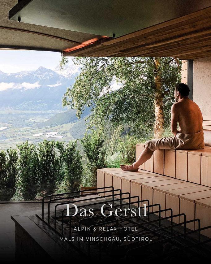 die schönsten Hotels in den Alpen: DAS GERSTL, Alpin- und Relax- Hotel,  Vinschgau, Südtirol/ Italien