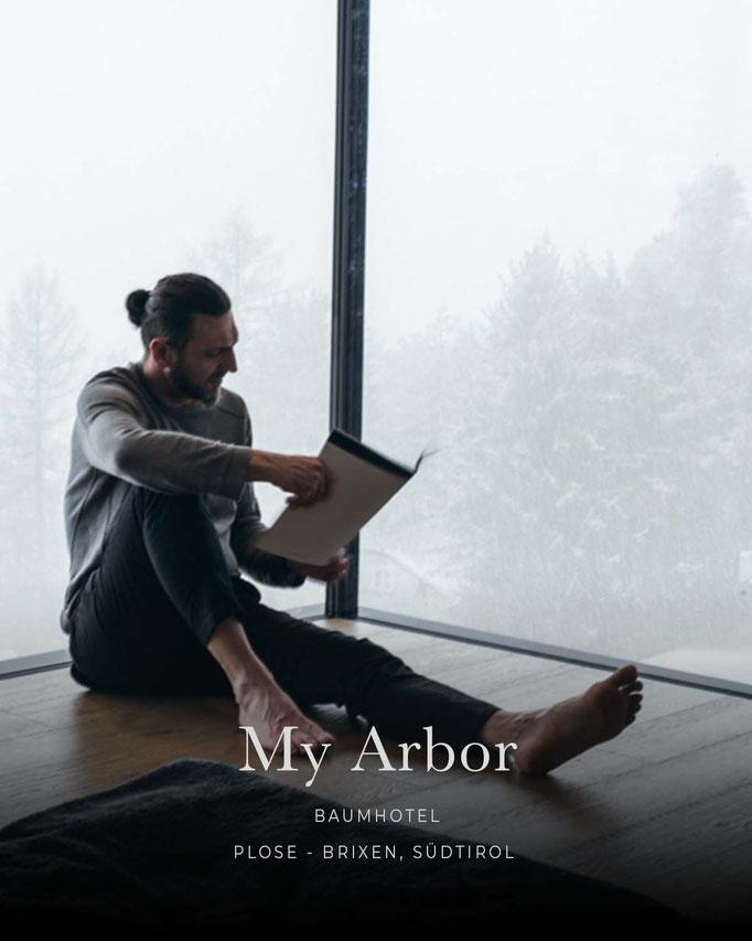 die schönsten Hotels in den Alpen: MY ARBOR, Baumhotel, Plose - Brixen - Südtirol/Italien