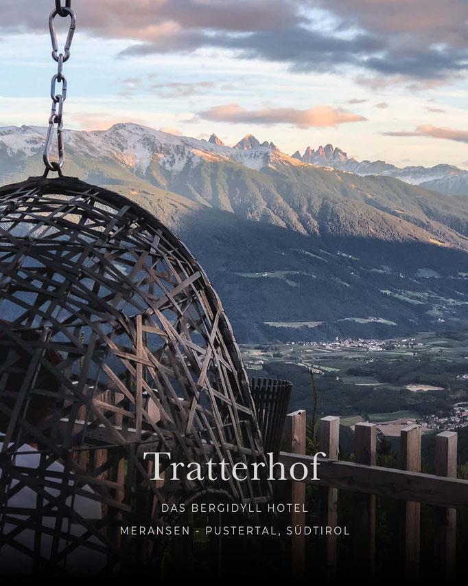 die schönsten Hotels in den Alpen: TRATTERHOF - THE MOUNTAIN SKY HOTEL, Meransen - Gitschberg, Südtirol/Italien