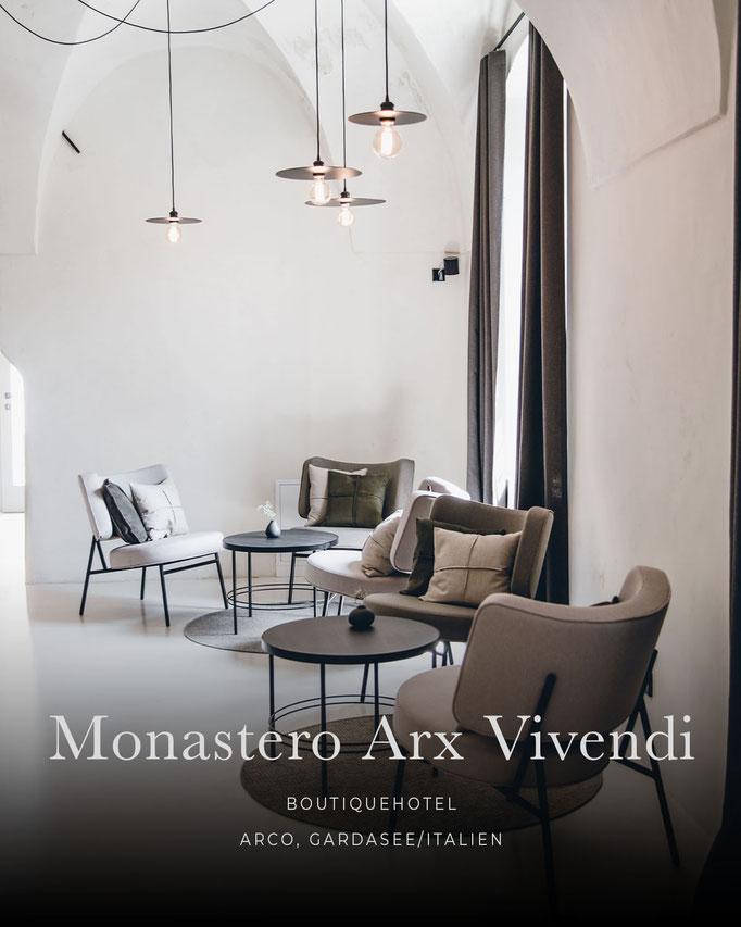 die schönsten Hotels in den Alpen: MONASTERO ARX VIVENDI, Arco - Gardasee, Trentino/Italien