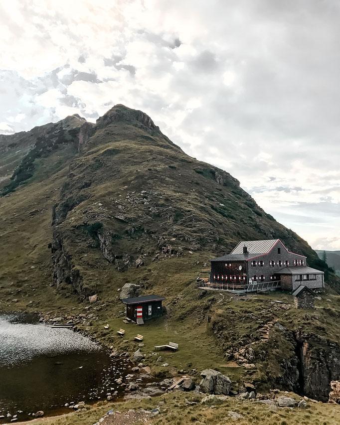 Wildseeloderhaus mit Blick auf den Wildseeloder