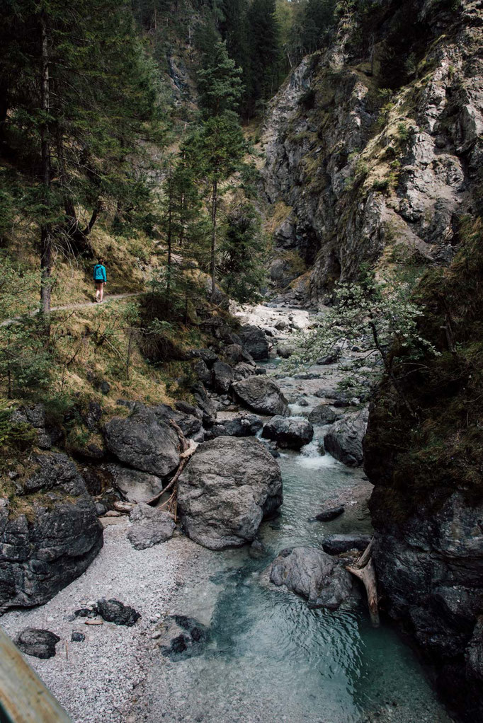 Rundwanderung + Schluchtenwanderung Vomperbach, Vomper Loch - Karwendel/Tirol