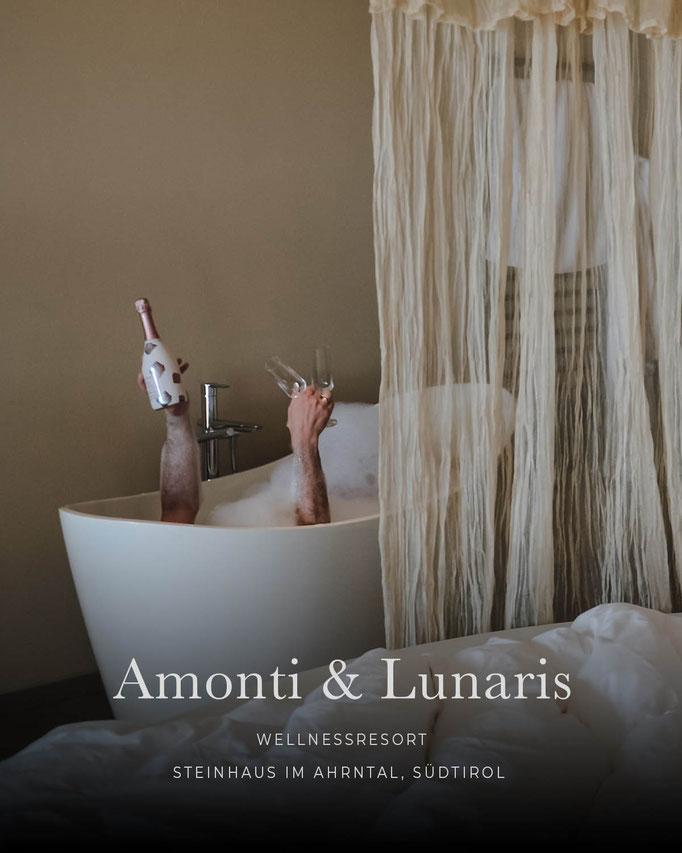 die schönsten Hotels in den Alpen: AMONTI & LUNARIS Wellnessresort, Steinhaus im Ahrntal - Südtirol/Italien