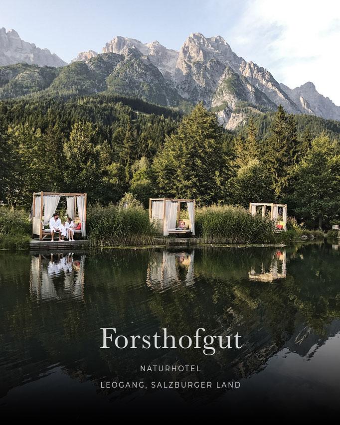 die schönsten Hotels in den Alpen: FORSTHOFGUT Naturhotel, Leogang, Salzburgerland/Österreich
