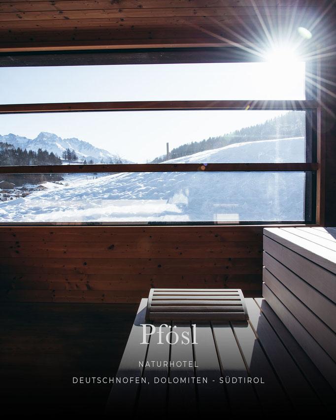 die schönsten Hotels in den Alpen: PFÖSL, Naturhotel, Wellnesshotel, Eggental - Dolomiten, Südtirol/Italien