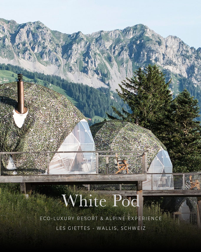 Whitepod, Luxury Resort, Wallis, Schweiz