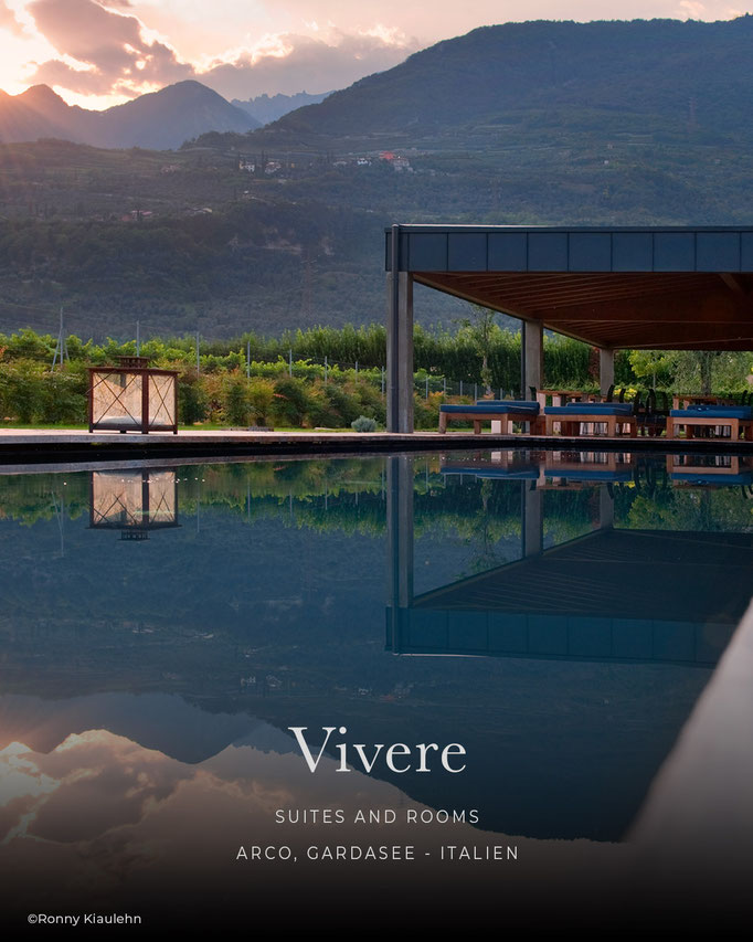 die schönsten Hotels in den Alpen: VIVERE, Suites and Rooms, Arco - Gardasee/Italien