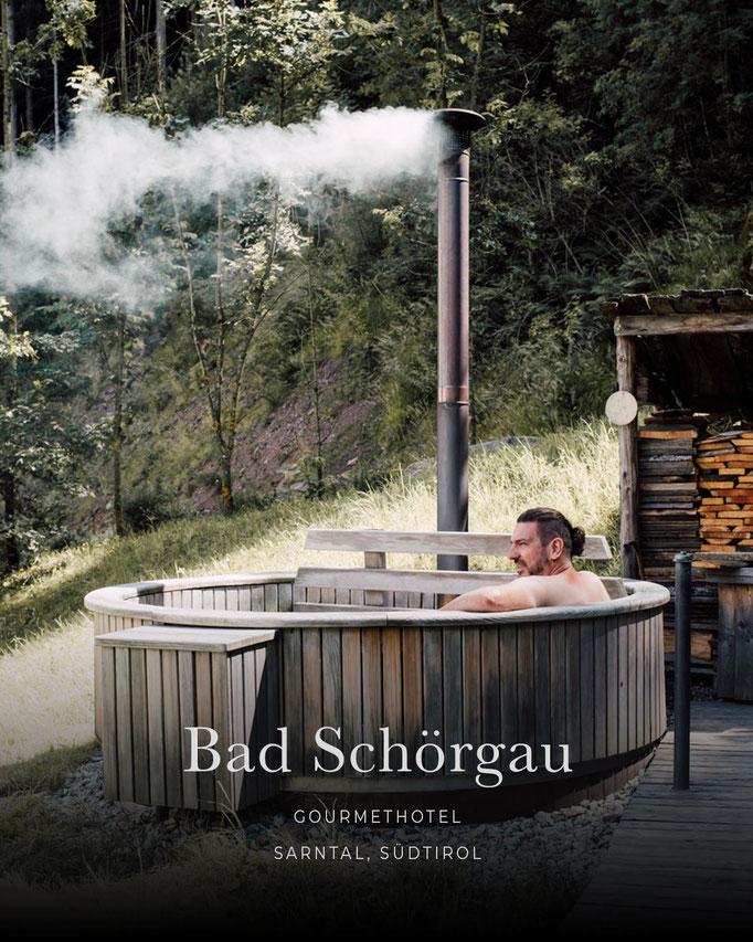 die schönsten Hotels in den Alpen: BAD SCHÖRGAU, Gourmethotel, Sarntal - Südtirol/Italien