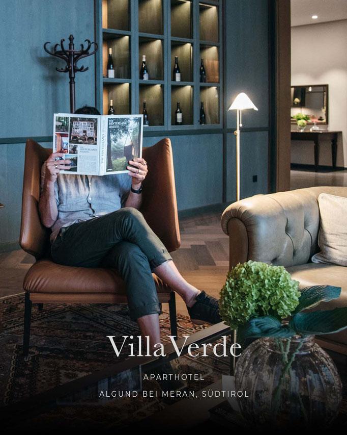die schönsten Hotels in den Alpen: VILLA VERDE Aparthotel, Algund bei Meran - Südtirol/Italien
