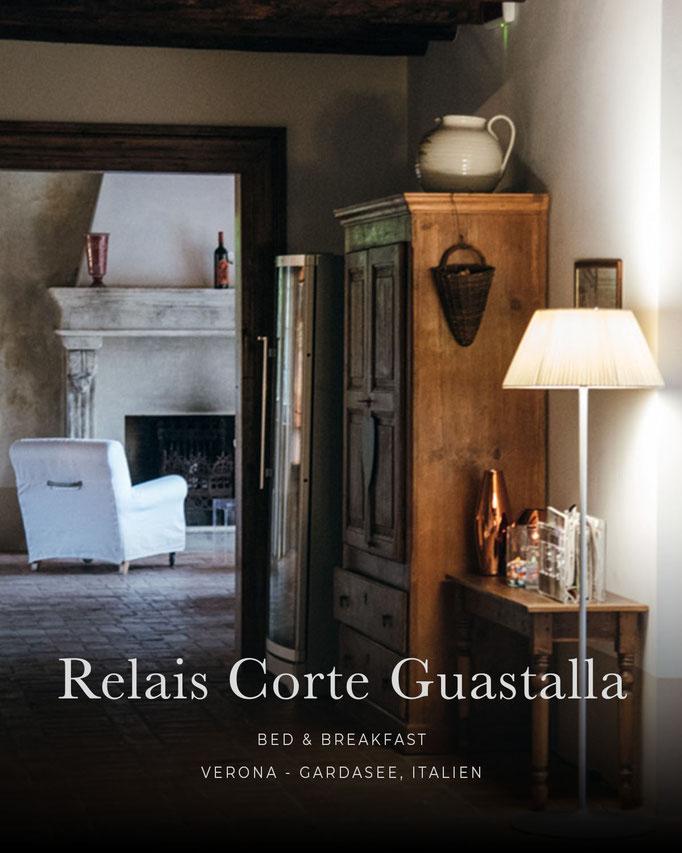 die schönsten Hotels in den Alpen: RELAIS CORTE GUASTALLA, Verona - Gardasee, Italien
