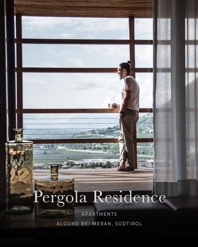 die schönsten Hotels in den Alpen: PERGOLA RESIDENCE, Apartments, Algund bei Meran, Südtirol/Italien