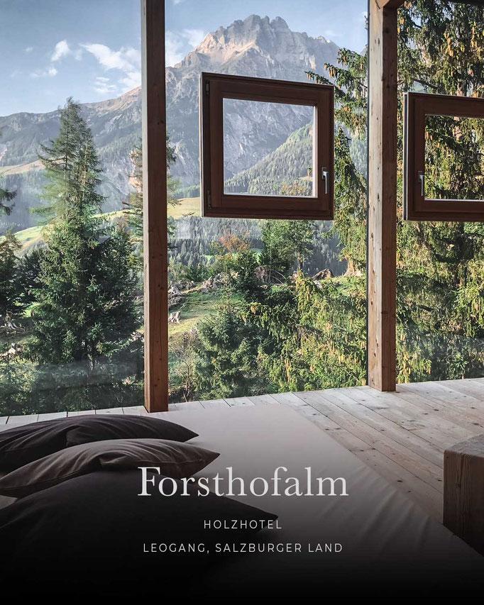 die schönsten Hotels in den Alpen: FORSTHOFALM, Wellnesshotel, Yogahotel, Leogang, Salzburgerland/Österreich