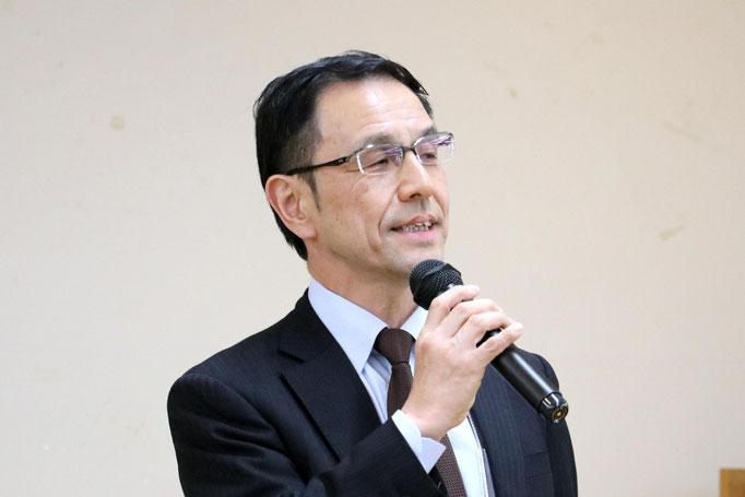 大林(南山大学同窓会東京支部長)