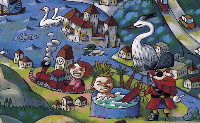 CGN, carte pour les enfants, détail 2. ©2005
