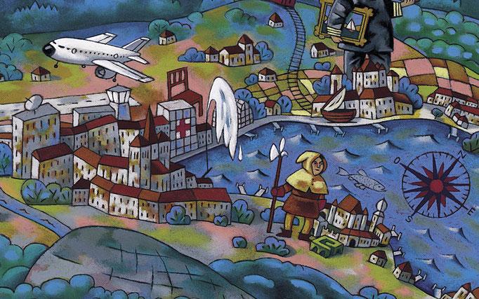 CGN, carte pour les enfants, détail 4. ©2005