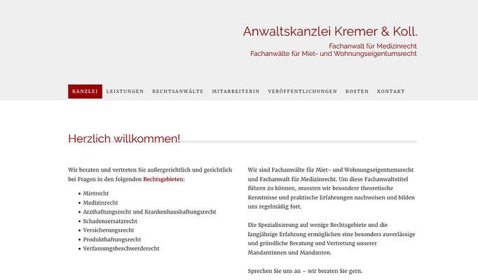 www.anwaltskanzlei-kremer.de