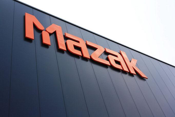 MAZAK, Leipzig | Einzelbuchstaben im Profil 1, unbeleuchtet