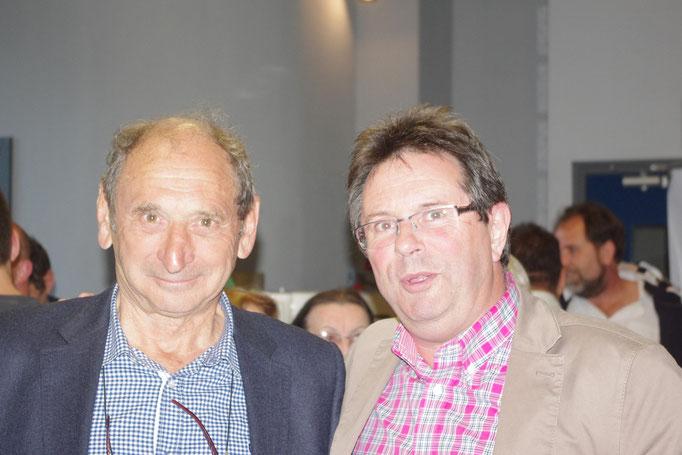 Pierre Villepreux et Gilles Pallier