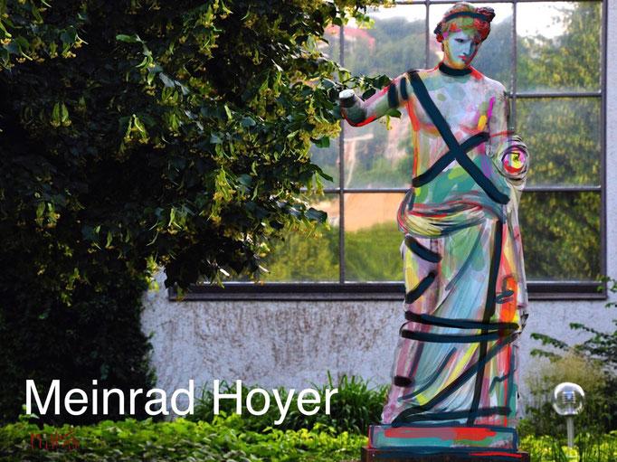 Götterstatue vor dem Eckensee