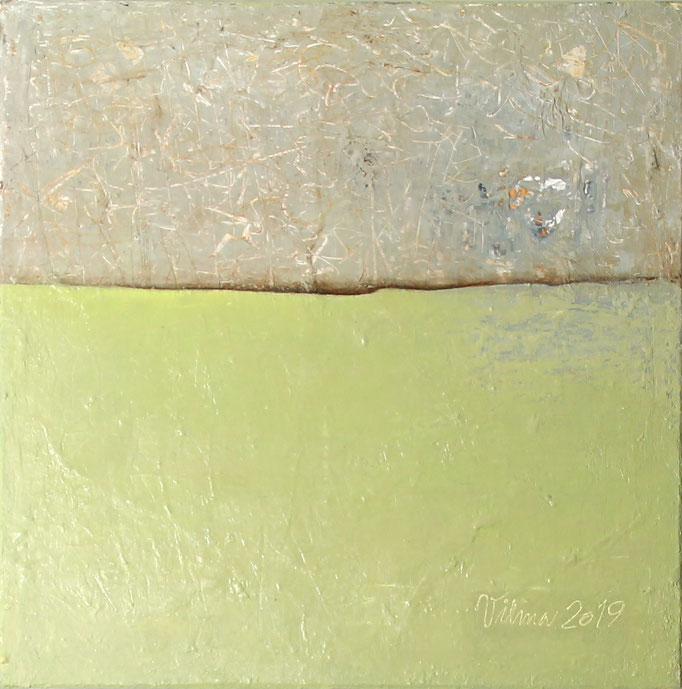 Oberfläche, Mischtechnik, 60x60