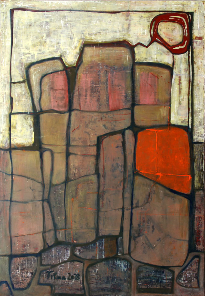 Rovinj I, Acryl,70x100