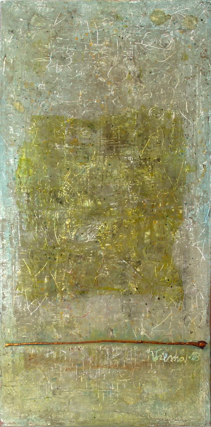 Baum I, Mischtechnik, 50x100